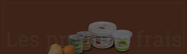 Les produits frais